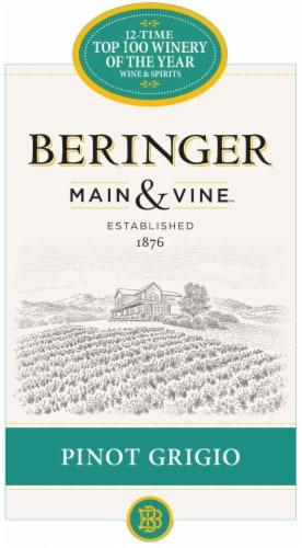 Beringer Main & Vine Pinot Grigio White Wine Perspective: left