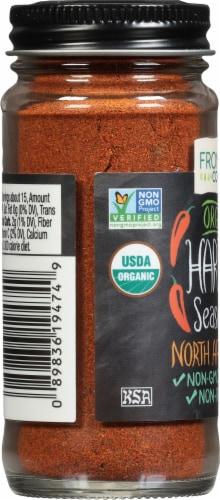 Frontier  Co-Op Organic Harissa Seasoning Perspective: left