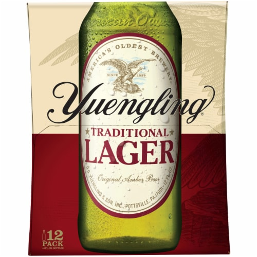 Yuengling Traditional Lager Perspective: left