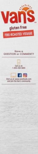 Van's Gluten Free Fire Roasted Veggie Crackers Perspective: left