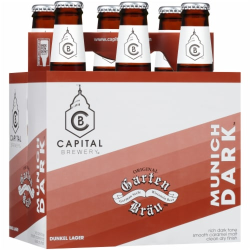 Capital Brewery Munich Dark Dunkel Lager Perspective: left