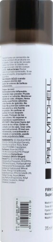 Paul Mitchell Firm Style Super Clean Extra Finishing Spray Perspective: left