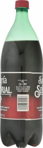 Senorial Sangria Non-Alcoholic Sparkling Soda Perspective: left