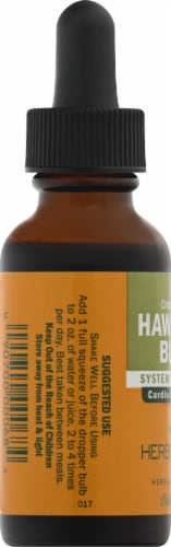 Herb Pharm Hawthorn Blend Herbal Supplement Perspective: left