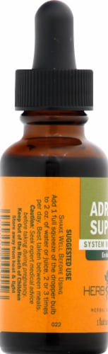Herb Pharm Adrenal Support Herbal Supplement Perspective: left