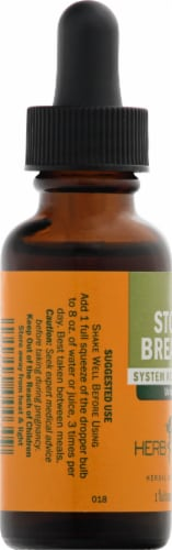 Herb Pharm Stone Breaker Urinary System Restoration Herbal Supplement Perspective: left