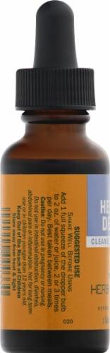 Herb Pharm Herbal Detox Cleanse & Detoxify Herbal Supplement Perspective: left