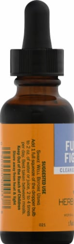 Herb Pharm Fungus Fighter Herbal Supplement Perspective: left