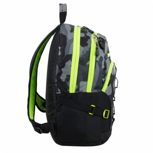 Fuel Dynamo Backpack - Army Camo Grey Perspective: left