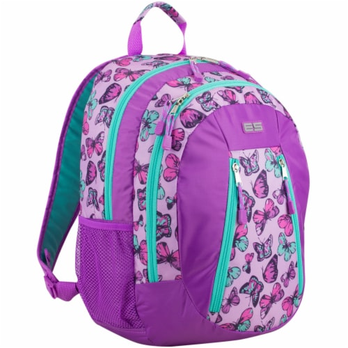 Eastport Active 2.0 Colorful Butterflies Backpack Perspective: left