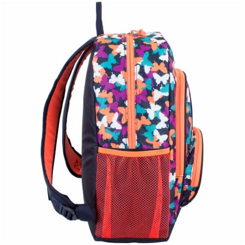 Fuel Triple Decker Backpack - Butterfly Solid Perspective: left