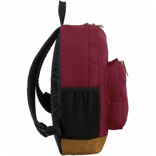 Fuel Superior Pro Backpack - Maroon Perspective: left