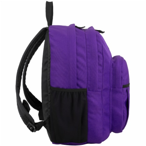 Fuel Deluxe Classic Large Backpack - Purple Perspective: left