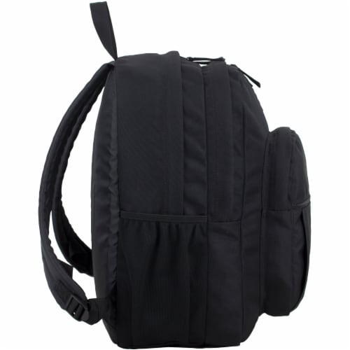 Fuel Deluxe Classic Large Backpack - Black Perspective: left