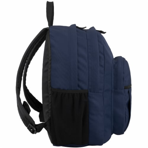 Fuel Deluxe Classic Large Backpack - Navy Perspective: left