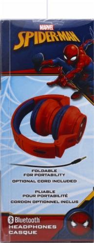 Ekids Marvel Spider-Man Bluetooth Headphones - Red Perspective: left
