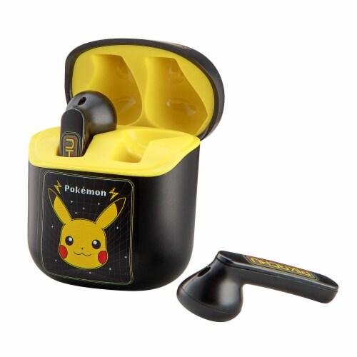 Ekids Pokemon True Wireless Earbuds - Black Perspective: left