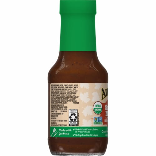Annie's Organic Smoky Maple BBQ Sauce Perspective: left