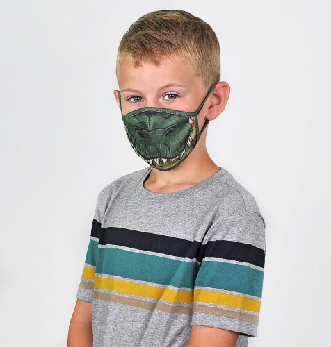 Wild Republic Outdoors Kids' Face Masks - Assorted Perspective: left