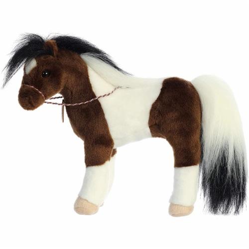 "Breyer Aurora 13"" Paint Horse Plush Perspective: left"