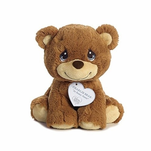 """Aurora World Precious Moments So Beary Sweet Charlie Bear Plush, 8.5"""", Brown Perspective: left"""