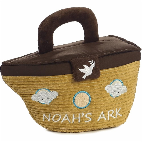 Noah's Ark Plush Playset for Baby by Aurora - 20808 Perspective: left