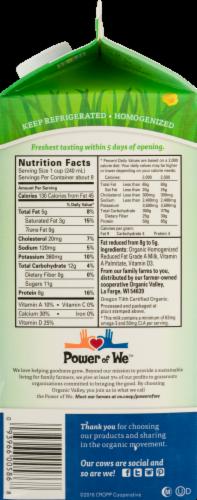 Organic Valley Grassmilk 2% Reduced Fat Milk Perspective: left
