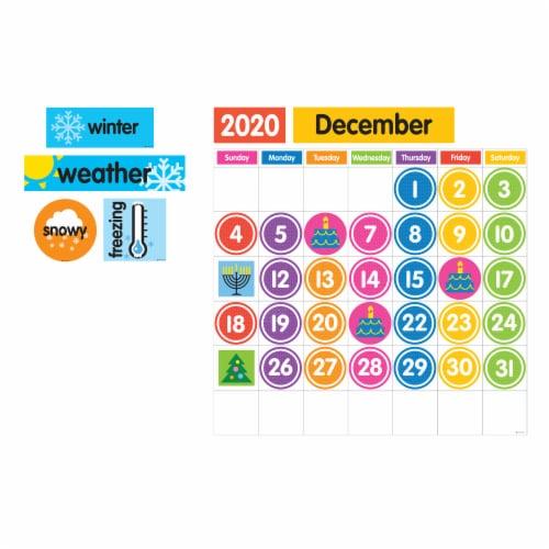 Dowling Magnets Giant Magnetic Calendar Set Perspective: left