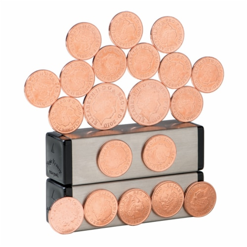 Dowling Magnets Magic Penny Magnet Kit, Fourth Edition Perspective: left