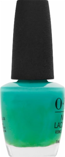 OPI My Dogsled Is A Hybrid Nail Lacquer Perspective: left