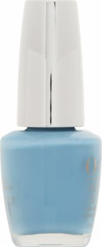 OPI Infinite Shine Infinity & Blue Yonder Nail Lacquer Perspective: left