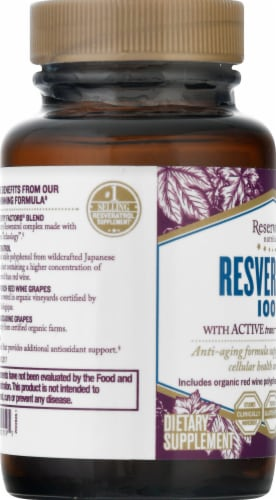 Reserveage Nutrition  Resveratrol Perspective: left