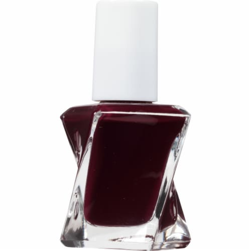 Essie Gel Couture Model Clicks Nail Polish Perspective: left