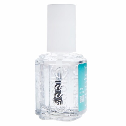 Essie Here To Stay Longwear Base Coat Nail Polish Perspective: left