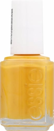 Essie Check Your Baggage Nail Polish Perspective: left