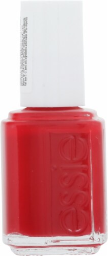 Essie Not Red-Y For Bed Nail Lacquer Perspective: left