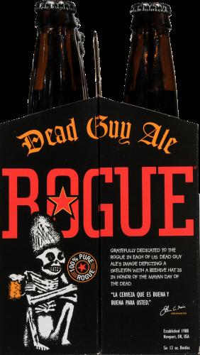 Rogue Dead Guy Ale Perspective: left