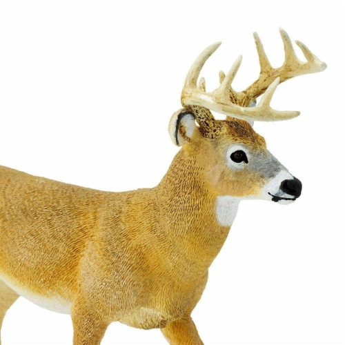 Whitetail Buck Toy Perspective: left