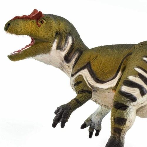 Allosaurus Toy Perspective: left