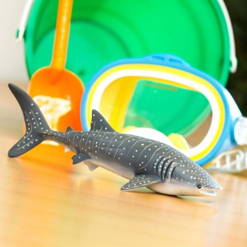 Whale Shark Toy Perspective: left