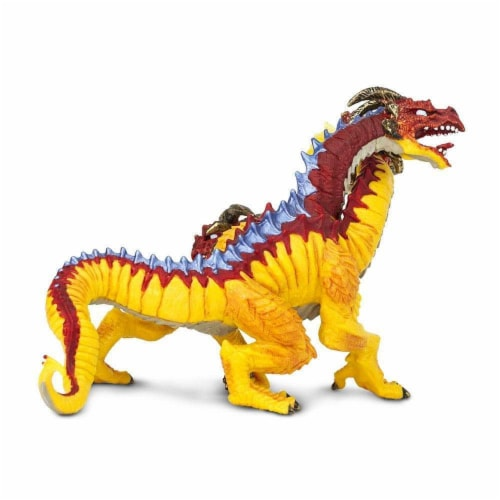Fire Dragon Toy Perspective: left