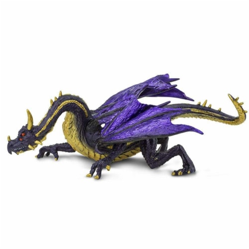 Midnight Moon Dragon Toy Perspective: left