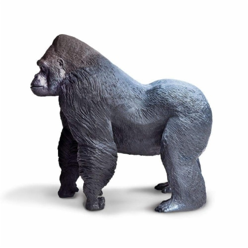 Silverback Gorilla Toy Perspective: left