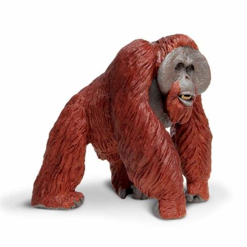 Bornean Orangutan Toy Perspective: left