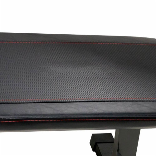 Marcy Multipurpose Home Gym Workout Utility Flat Board Bench | SB315 Perspective: left