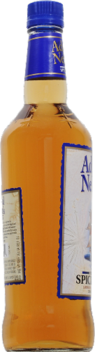 Admiral Nelson's Spiced Rum Perspective: left