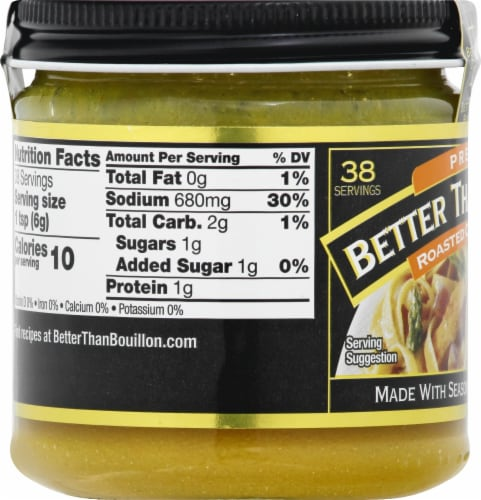 Better Than Bouillon Premium Roasted Chicken Base Perspective: left