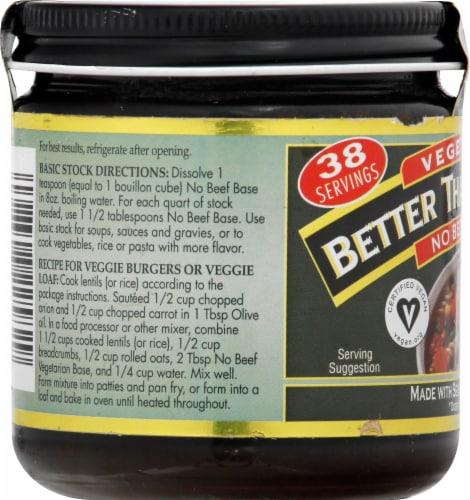 Batter Than Bouillon Vegetarian No Beef Base Perspective: left