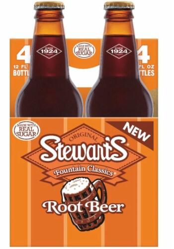 Stewart's Root Beer Perspective: left