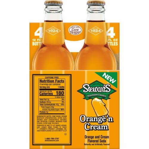 Stewart's Orange 'n Cream Soda Perspective: left